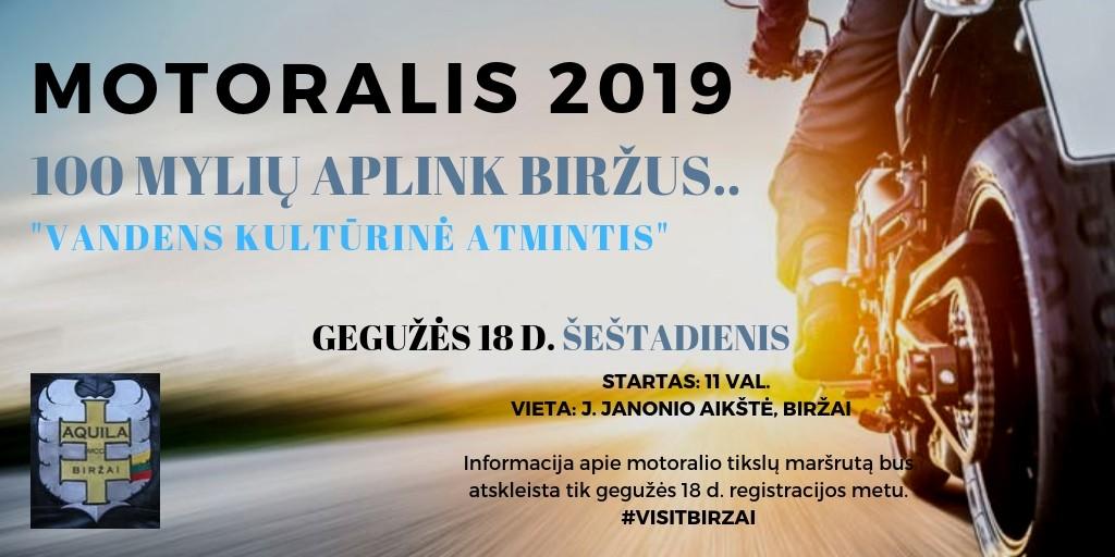 MOTORALIS 2019 INFO