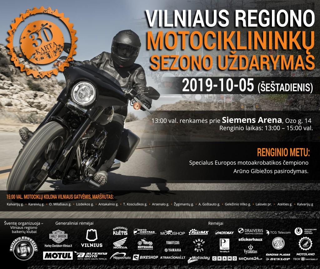 uzdarymas 2019 Vilnius